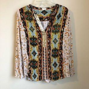 Anthropologie • Tiny devas popover top blouse